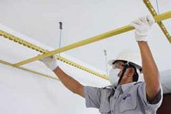 Hướng dẫn thi công trần thạch cao Vĩnh Tường BASI - Bước 4